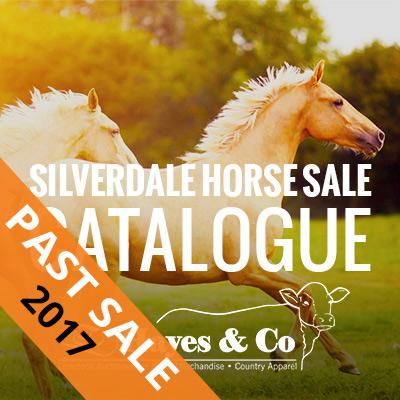 2017 Silverdale Horse Sale