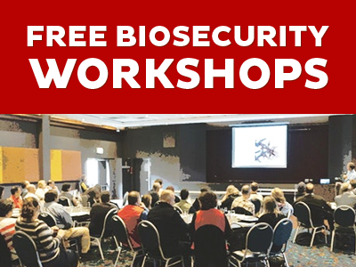 Upcoming Biosecurity  Workshops