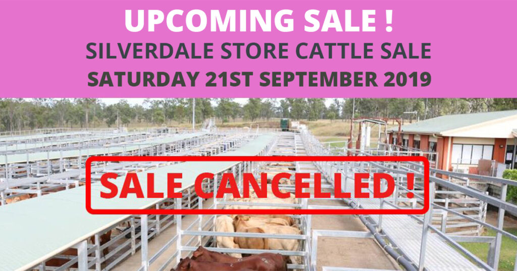 Silverdale Store Sale Cancelled