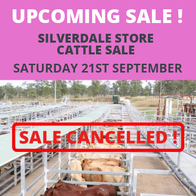 Store Sale 21st September 2019 – Cancelled